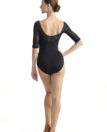AW-B101 Constance with Kara Lace Black - Back