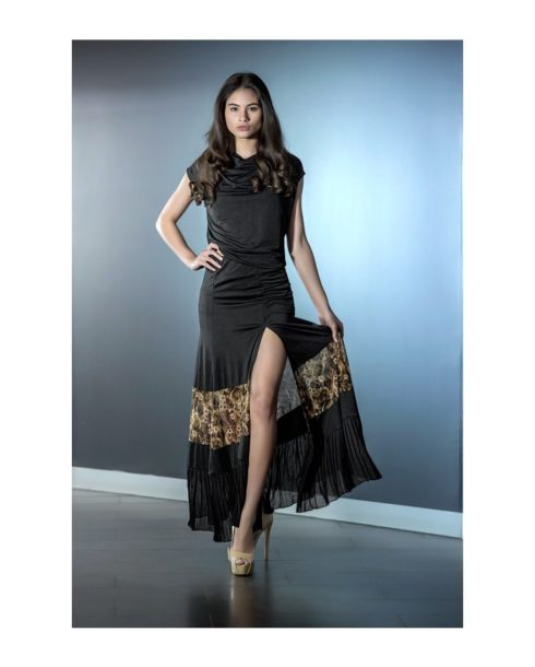 Je-Dor-Osaka-Ballroom-Dance-Skirt-J3288-Black_w_dark_rose-3b