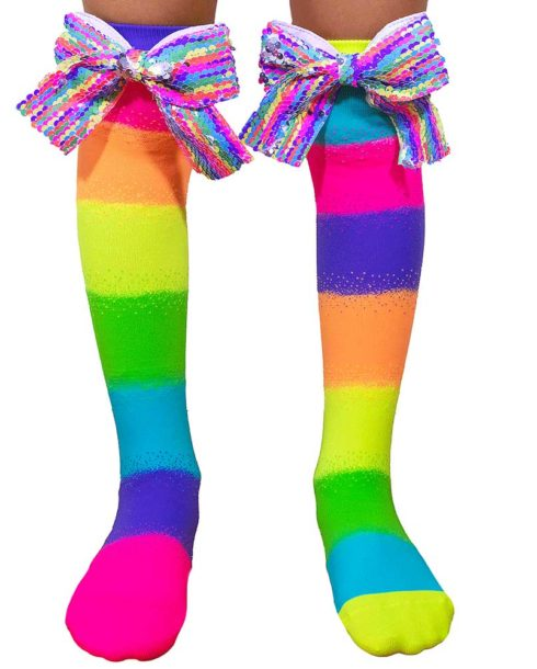 Socks-with-Sequin-Bows
